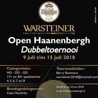 Warsteiner Open dubbel toernooi