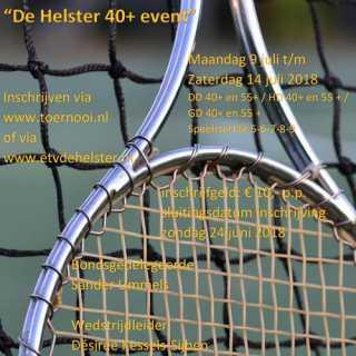40+ toernooi