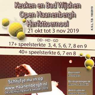 Open Haanenbergh Herfsttoernooi 2019