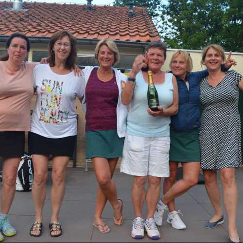 Kampioenen competitie dames 2019