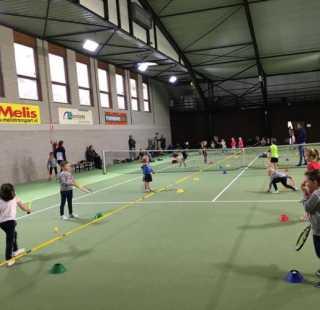 Veel kinderen via Sjors Sportief