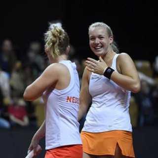 Tennisshow met Nederlandse toppers