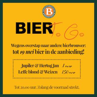Horeca: Bier voor een klein prijsje