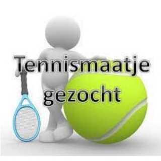 Tennismaatje gezocht