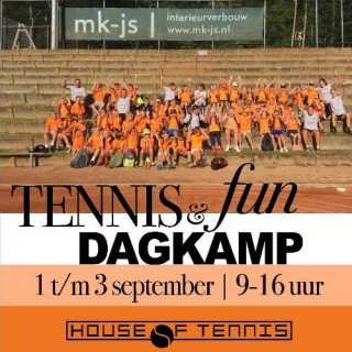 Tenniskamp jeugd vanaf 4 jaar