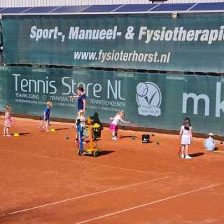 Tennistraining laatste week