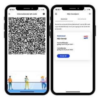 Horeca en corona toegangsbewijs